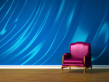 Purple chair Stock Photos