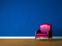 Purple chair Royalty Free Stock Image