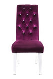 The purple chair Stock Photography