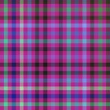 Purple checkered pattern usable for scrapbook or print on curtain, tablecloth or scarf. Abstract geometric digitally rendered checkered pattern usable for Royalty Free Stock Photography