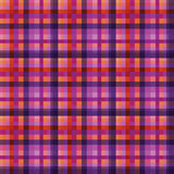 Purple checkered seamless background Stock Photography