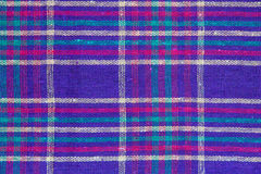 Plaid textiles as the background Stock Images