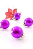 Purple Christmas Royalty Free Stock Photo