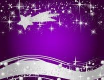 Purple christmas background Royalty Free Stock Photo
