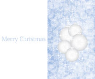 Purple Christmas background. Elegant purple Christmas background with balls royalty free illustration