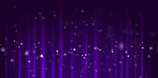 Purple Christmas background Stock Photo