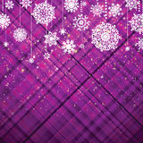 Purple christmas background. EPS 8 Royalty Free Stock Photo