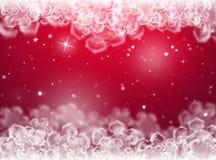 Purple Christmas background .New Year Background Stock Photo