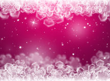 Purple Christmas background .New Year Background Stock Photos