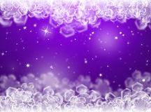 Purple Christmas background .New Year Background Stock Images