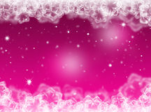Purple Christmas background .New Year Background Royalty Free Stock Photos