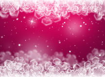 Purple Christmas background .New Year Background Stock Image