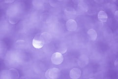 Purple Christmas Background - Stock Photos. Purple Christmas lights Background : Blurred white dots on Blue Background royalty free stock photo