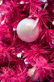 Purple Christmas decoration Stock Photos