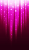Purple Christmas Snowflake Background Royalty Free Stock Photos