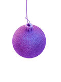 Purple Christmas Tree Ornament Royalty Free Stock Image