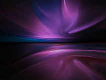 Purple chrome background Stock Photo