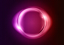 Purple circle Stock Photo