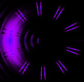 Purple circle neon light Abstract. Background Royalty Free Stock Image
