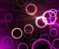 Purple Circles Abstract Background Texture Royalty Free Stock Photos