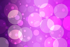 Purple circles Stock Photography