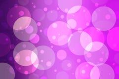 purple circles Stock Photography