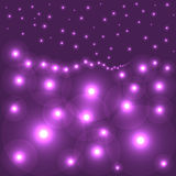 Purple circles Royalty Free Stock Photography
