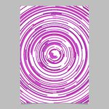 Purple circular stationery background from concentric circles. Purple abstract circular stationery background from concentric circles vector illustration
