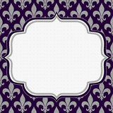 Purple Classic Background Royalty Free Stock Images