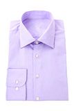 Purple classic shirt Royalty Free Stock Photography