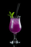 Purple cocktail Royalty Free Stock Photography