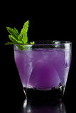 Purple cocktail Stock Photography