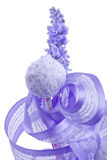 Purple cocunut cakepop Royalty Free Stock Photo