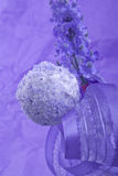 purple cocunut cakepop Stock Photography