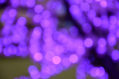 Purple Color of bokeh background Stock Photography