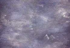 Purple color brush strokes painted background texture Royalty Free Stock Photos