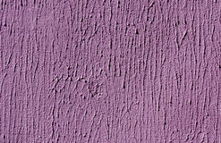 Purple color cement wall surface. Royalty Free Stock Images