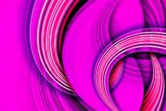 Purple color curve scene Stock Photography