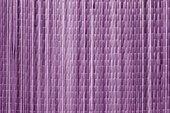 Purple color sraw mat pattern. Royalty Free Stock Images