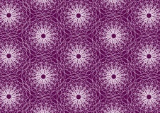 Purple colored abstract repeat pattern Royalty Free Stock Images