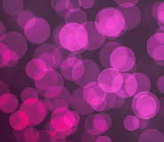 Purple colored bokeh background. Purple bokeh background texture bubbles Stock Photo