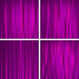 Purple colored striped decorative backgrounds Royalty Free Stock Photos