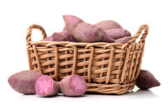 Purple Colored Sweet Potatoes Royalty Free Stock Image