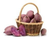 Purple Colored Sweet Potatoes Stock Photos