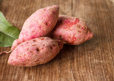 Purple Colored Sweet Potatoes Royalty Free Stock Images