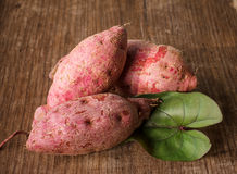 Purple Colored Sweet Potatoes Royalty Free Stock Photo
