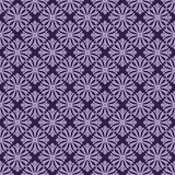 Purple Colors Asian Damask Pattern. Korean traditional Pattern D Royalty Free Stock Images