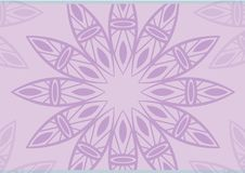 Purple background flowers. Purple colors flower illustration isolated concept Royalty Free Stock Image