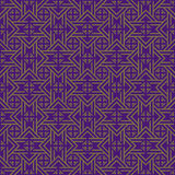Purple Colors Geometry Pattern. Royalty Free Stock Photo