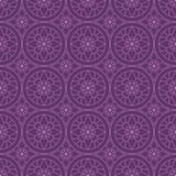 Purple Colors Round grid Pattern. Korean traditional Pattern Des Stock Photos